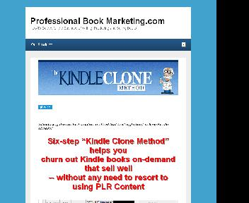 Kindle Clone Method Coupon Codes