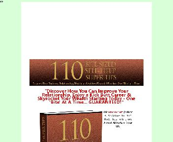 110 Self Help Super Tips Coupon Codes