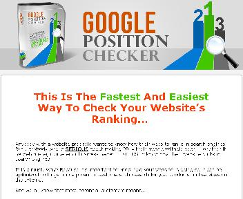 Google Position Checker with MRR Coupon Codes