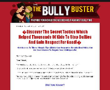 The Bully Buster Coupon Codes