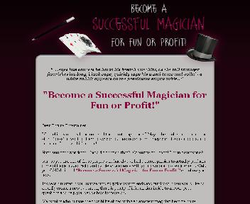 How To Become A Successful Magician for Fun and Profit Coupon Codes