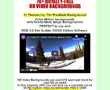 Royalty-Free Motion Video Backgrounds Pack Coupon Codes