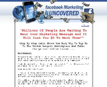 Facebook marketing uncovered Coupon Codes