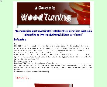 A Course In Wood Turning Coupon Codes