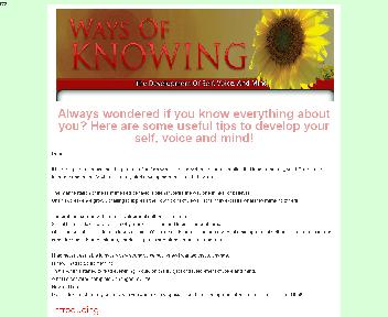 Ways Of Knowing-The Development of Self, Voice, and Mind Coupon Codes