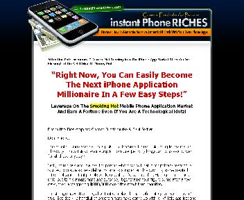 Instant Phone Riches Coupon Codes