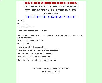 How to start a Commercial Cleaning Coupon Codes