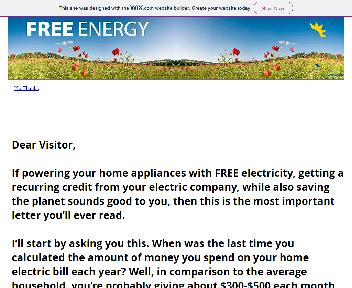 Free Energy Coupon Codes