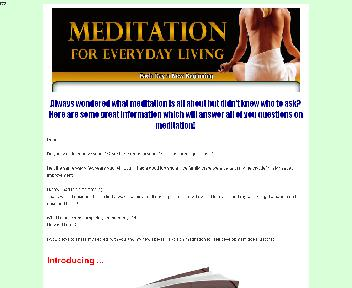 Meditation For Everyday Living Coupon Codes