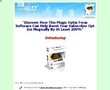 Optin Buzz… Boost Conversions by 200% Coupon Codes