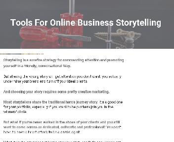 Story Telling 5-Day Virtual Workshop Coupon Codes
