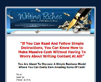 Writing Riches Coupon Codes