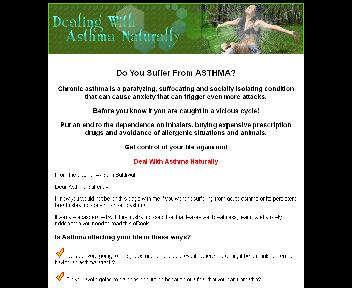 Dealing With Asthma Naturally Coupon Codes