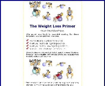 weight loss primer report Coupon Codes