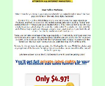 FB Ad Secrets Comes with Master Resale Rights Coupon Codes