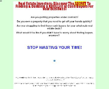Real Estate Cash Buyers Mastermind Coupon Codes