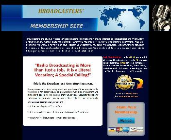 Broadcasters' Membership Site Coupon Codes