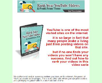 How To Rank Your You Tube Videos Coupon Codes