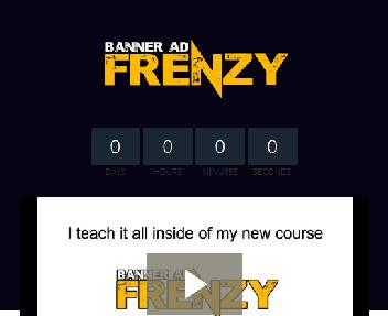 Banner Ad Frenzy Coupon Codes