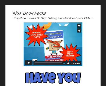 Kids Book Pack Coupon Codes