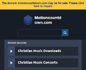 Motion Countdown Coupon Codes