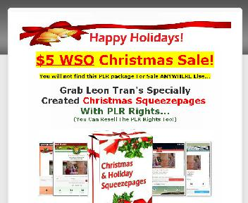 Christmas Holiday Squeezepage Themes Coupon Codes
