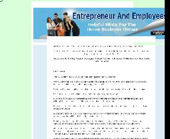 Entrepreneur And Employees Comes with Master Resale Rights discount code