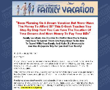 How To Budget A Family Vacation Coupon Codes