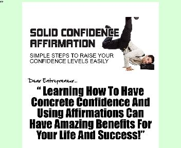 Solid Confidence Affirmation Coupon Codes