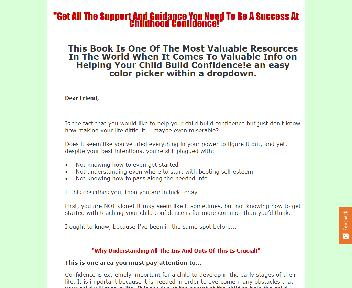 Create Childhood Confidence Comes with Master Resale Giveaway Rights Coupon Codes
