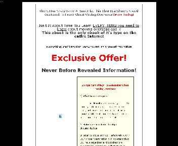 Moving Abroad Checklist Coupon Codes
