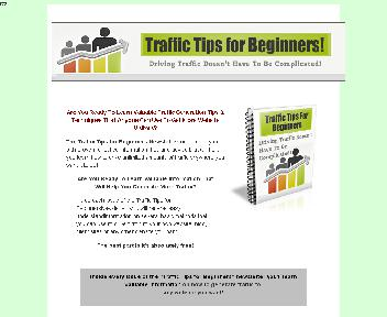 Traffic Tips for Beginners Coupon Codes