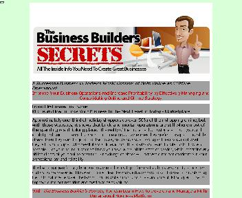 The Business Builders Secrets Comes with Master Resale/Giveaway Rights discount code