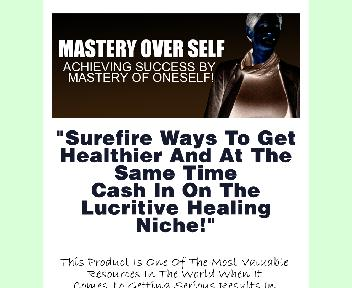 Mastery Over Self Comes with Master Resale Rights Coupon Codes