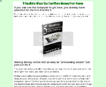 5 Realistic Ways You Can Make Money From Home Coupon Codes