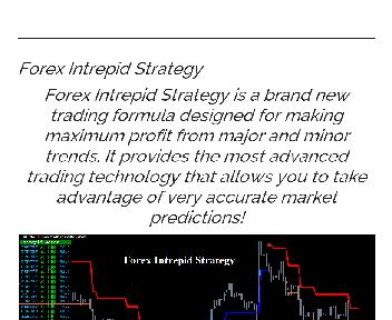 Forex Intrepid Strategy Coupon Codes