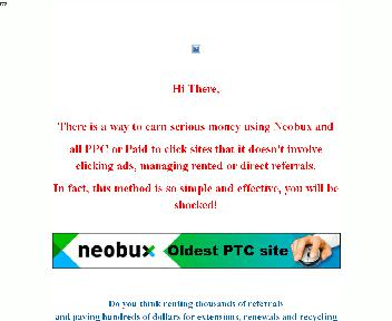 Let's make some BIG money with Neobux and all paid to click sites Coupon Codes