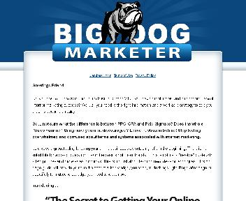 The Ultimate Big Dog Marketer Starter Guide Coupon Codes