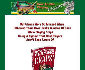 How To Win At Craps With My NEW Secret System Coupon Codes