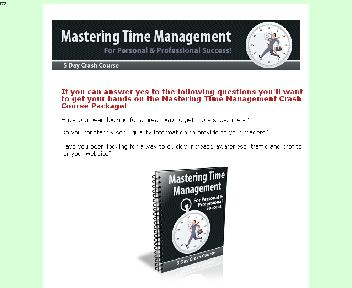 Mastering Time Management Coupon Codes