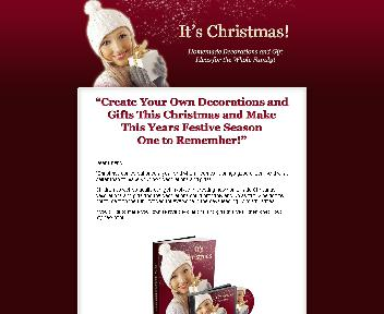 Homemade Christmas Decorations and Gift Ideas Coupon Codes
