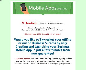 Mobile Apps Made Easy Coupon Codes