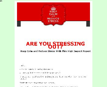Stay Calm and Reduce Stress Coupon Codes