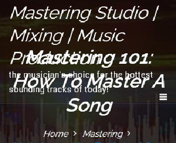 Album/CD Mastering 12 Songs or 70 minutes of music Coupon Codes