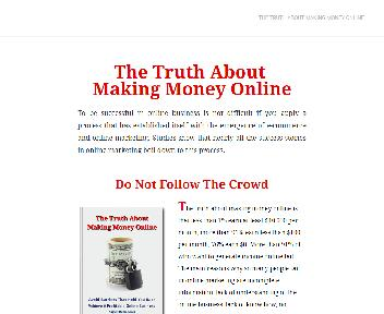 The Truth About Making Money Online Coupon Codes
