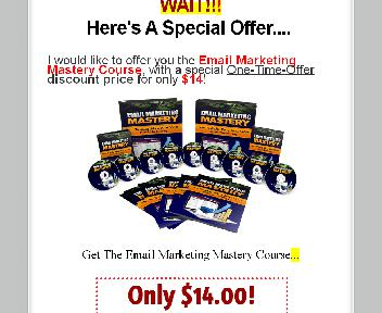 OTO Email Marketing Master Course Coupon Codes
