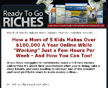 Ready To Go Riches Coupon Codes