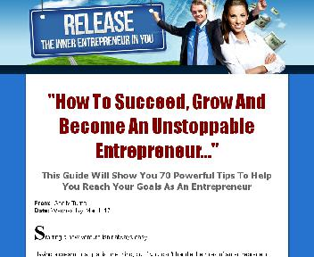Release the Inner Entrepreneur in You Coupon Codes