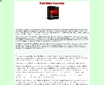 Total Video COnverter Coupon Codes