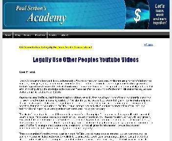 Legally Use Other Peoples Youtube Videos + Bonuses Coupon Codes